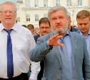 Владимир Жириновский приехал в Тулу на агитпоезде ЛДПР
