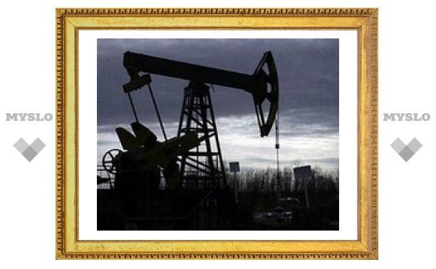 Цена на нефть опустилась до двухмесячного минимума