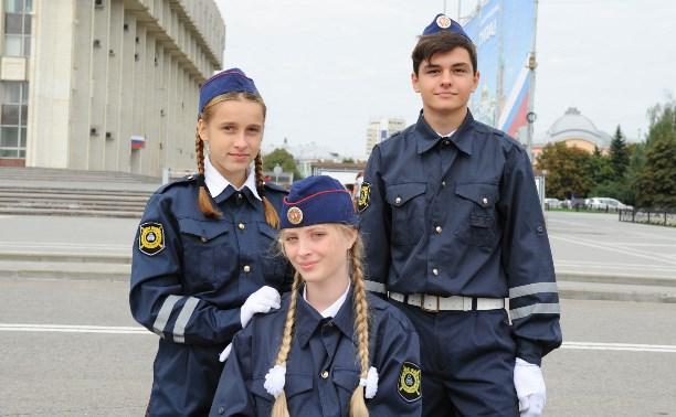 На площади Ленина прошла акция «Безопасный город»