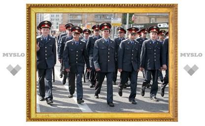 На День города туляков будут охранять более 300 милиционеров