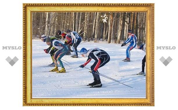 Тульские лыжники достойно выступили на чемпионате МВД
