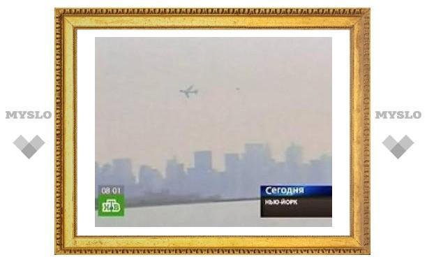 Самолет Обамы вызвал панику на Манхэттене