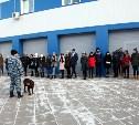 Тульские студенты посетили полицейский кинологический центр