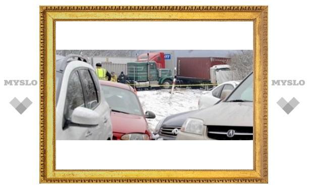 ДТП в Туле: столкнулось сразу 8 машин!