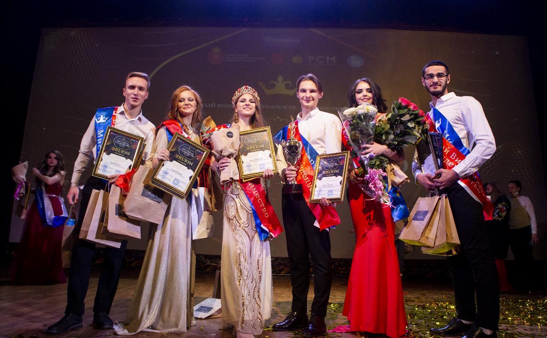 Лучшими студентами года стали Виктория Дроздова и Алексей Морозов