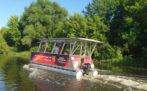 В Туле на Упе под мостом в районе Восточного обвода запретят плавать на лодках и катерах