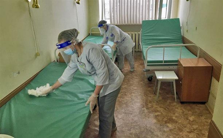 В Туле после выписки пациентов закроется коронавирусный госпиталь в горбольнице №10