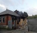 В Туле на улице Пионерской горел жилой дом