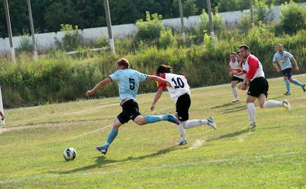 Футболисты «Алексина» вышли в финал Кубка Тульской области