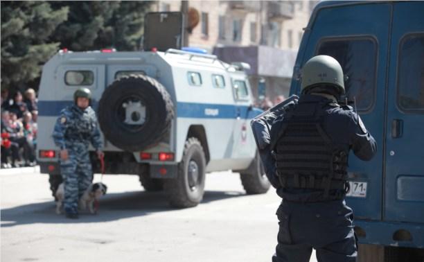 Тульские спецназовцы оказались самыми меткими
