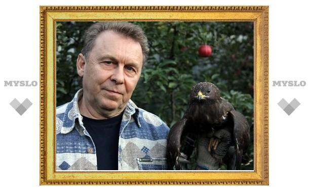 В центре Тулы поймана хищная птица
