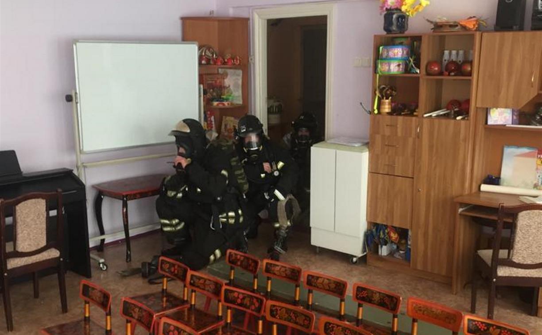 В новомосковском детском саду прошли противопожарные учения: фото