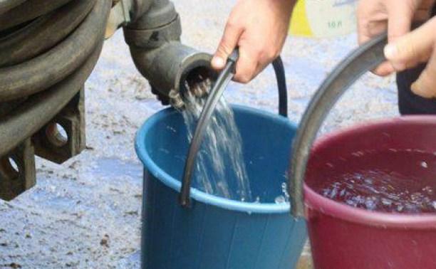 Открыли пятый пункт раздачи воды для жителей Пролетарского округа