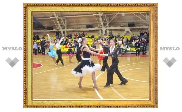 Тульские танцоры успешно выступили в родных стенах