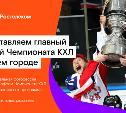 «Ростелеком» и КХЛ везут в Тулу легендарный хоккейный трофей