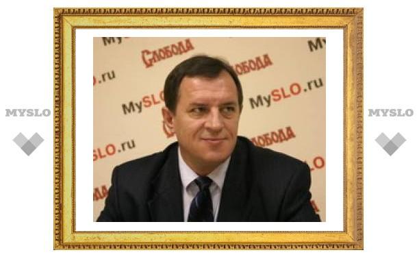 Тулячек поздравил прокурор области Олег Черныш