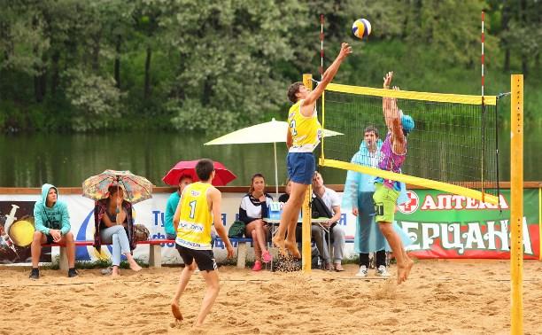 Определились лучшие мужские пары по пляжному волейболу