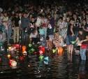 В ЦПКиО имени Белоусова прошёл фестиваль водных фонариков