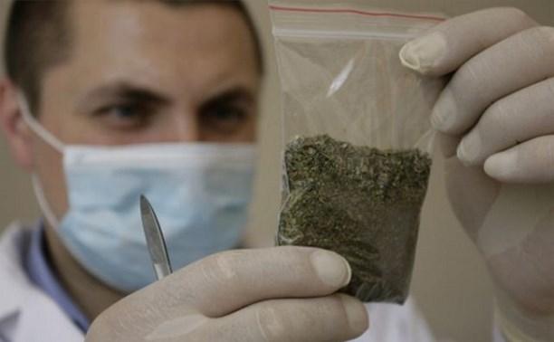 В Узловой задержали 21-летнего парня с 47 граммами спайса