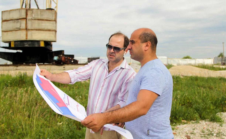В посёлке Иншинский строится детский сад на 80 мест