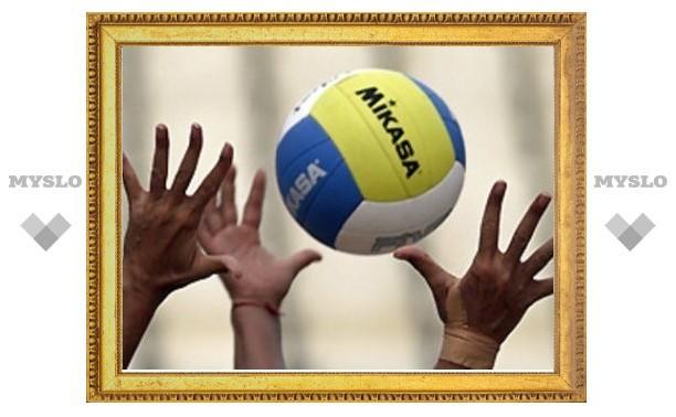 У тульских волейболистов начинается пора решающих матчей