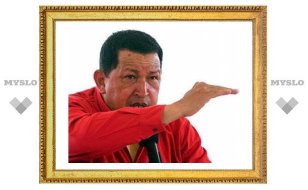 """Чавес назвал Обаму """"жалким невеждой"""""""