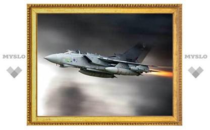 Истребитель британских ВВС разбился у берегов Шотландии