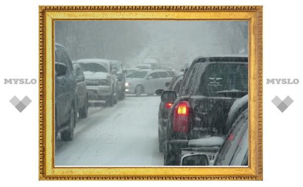 В Тульской области возможен снегопад