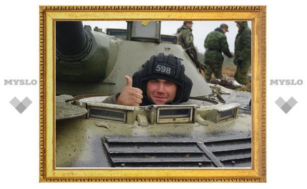 Тульские десантники получат ключи от танков