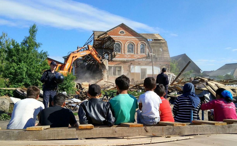 В Туле в Плеханово и Хрущево освобождают незаконно занятые цыганским табором земли
