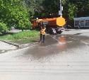 В Туле продолжается уборка городских территорий
