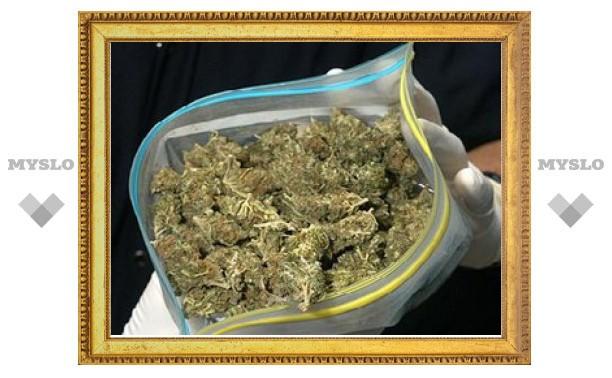 Под Тулой наркодилер спрятал 3 кг марихуаны в сельскую водокачку