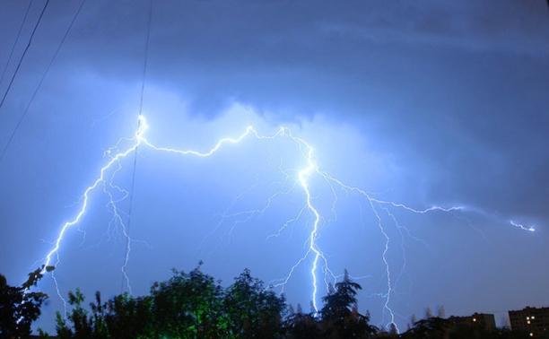 В Туле объявлено штормовое предупреждение