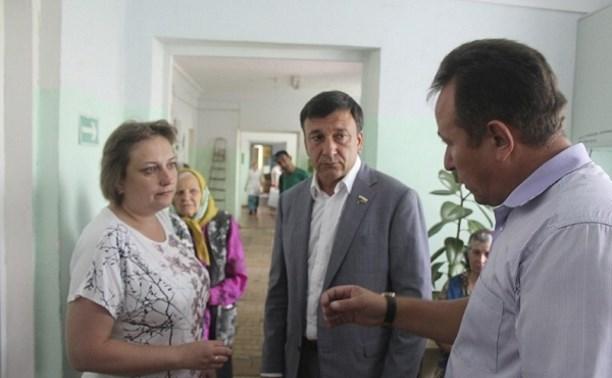 «Выездная поликлиника» проверила здоровье жителей Кимовского района