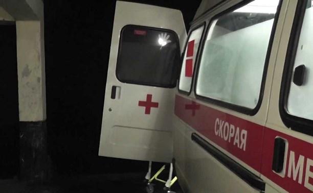 В Щекино при пожаре пострадали женщина и двое детей
