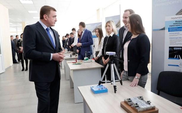 Дюмин поручил Авилову привлечь ученых ТулГУ к разработке транспортной стратегии Тулы