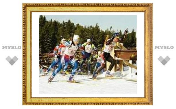 Туляки катаются на лыжах в Сыктывкаре