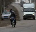 За сутки в Тульской области опрокинулись два мотоциклиста