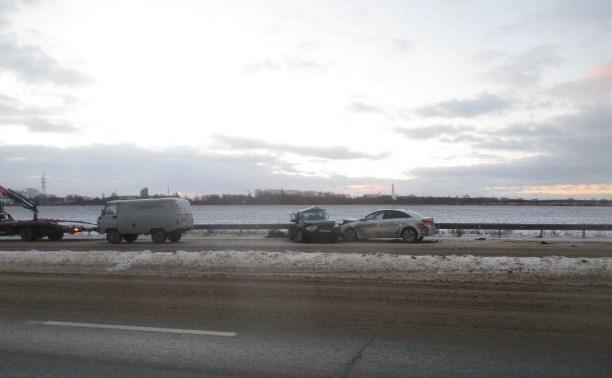 На дороге «Тула – Новомосковск» в результате ДТП погиб водитель Ford Focus