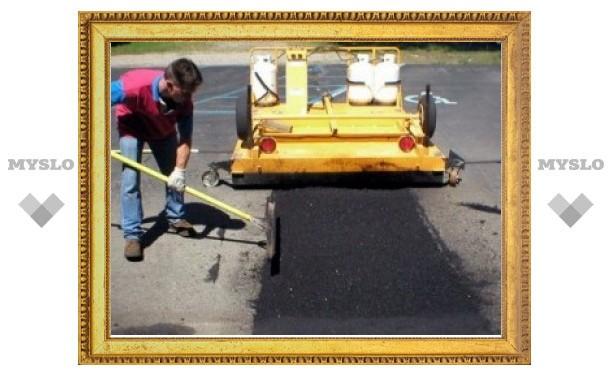 Работы по ремонту дорог в Туле завершены