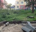 В Туле продолжается ремонт дорог и замена бордюров