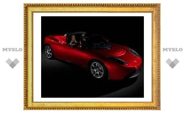Началось серийное производство электромобиля Tesla Roadster