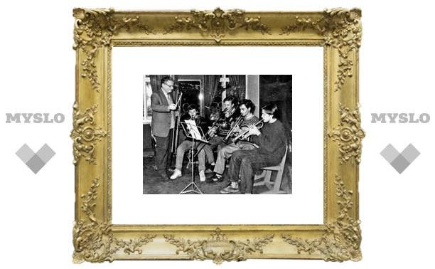 Пионеры играли джаз в барской усадьбе