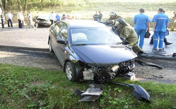 В ДТП на Калужской трассе пострадали два человека
