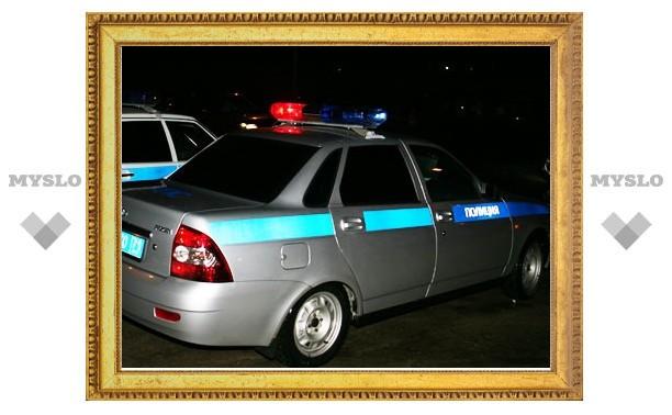 Сотрудница тульской полиции протаранила четыре автомобиля