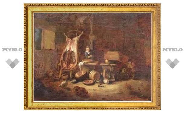 Реставратор нашел на картине свинью вместо лестницы
