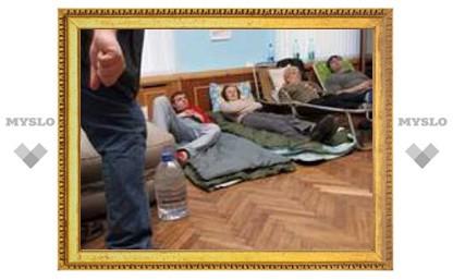 Тульские предприниматели прекратили голодовку