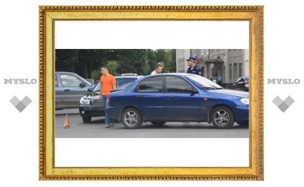 Туляк подрезал губернаторский кортеж