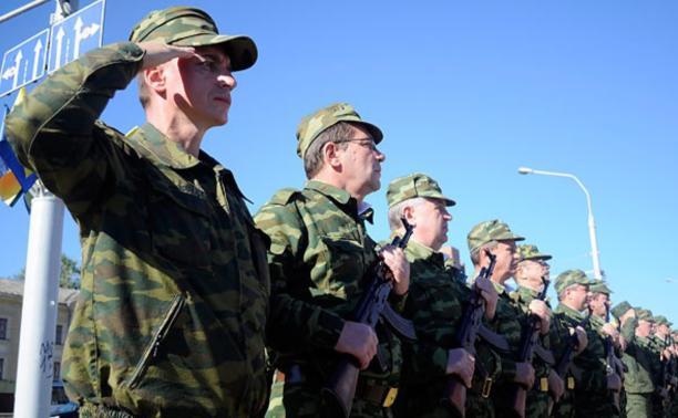 В августе запасников призовут на военные сборы