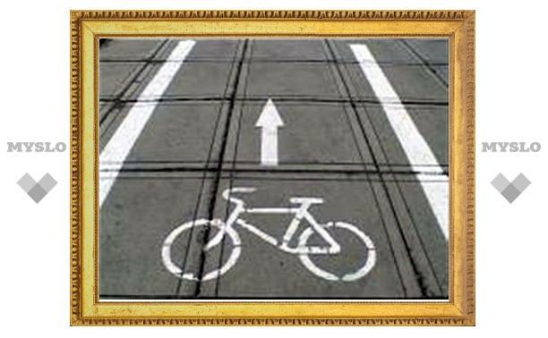 В Туле скоро появятся первые велодорожки